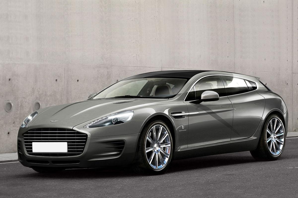 Bertone Reveals An Exclusive Aston Martin Wagon Extravaganzi