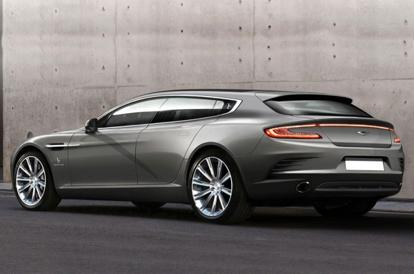 Dubbed a shooting brake in the British style, Bertone says the car was commissioned by a wealthy Aston Martin collector who wanted something unique