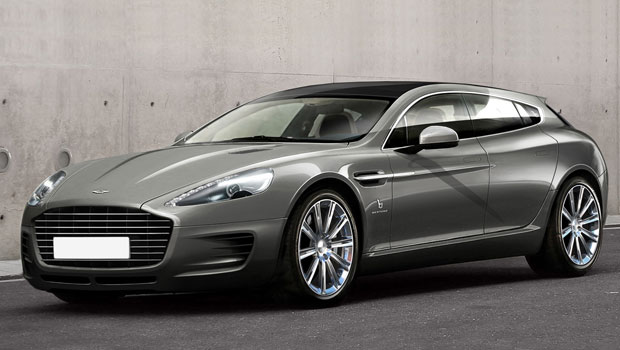 Bertone Reveals An Exclusive Aston Martin Wagon