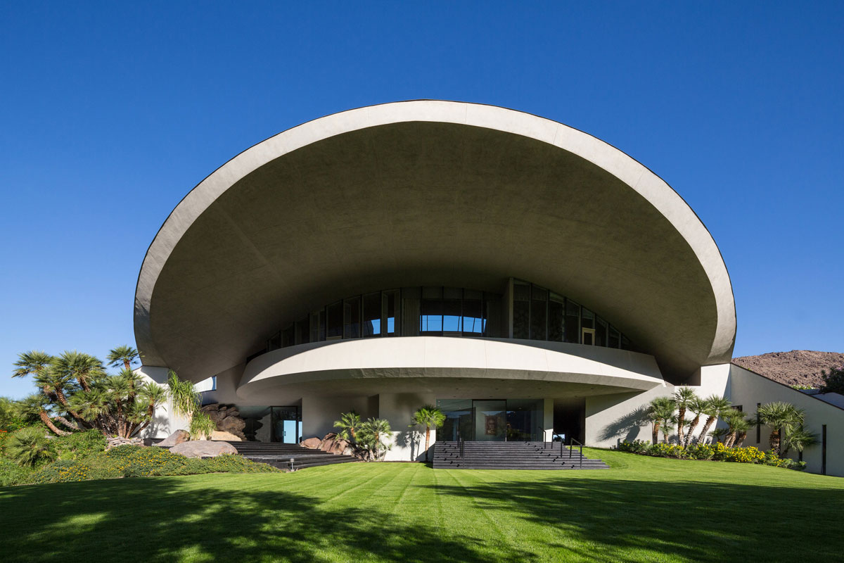 Bob Hope's 'Mushroom' Estate in Palm Springs