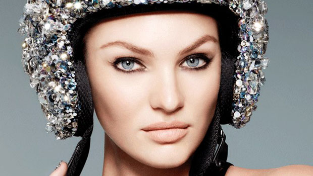 Candice Swanepoel is a new face of Swarovski's spring/summer 2013 campaign