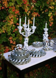 Vivid Tableware by Christian Lacroix Maison – Brand's First Porcelain Collection