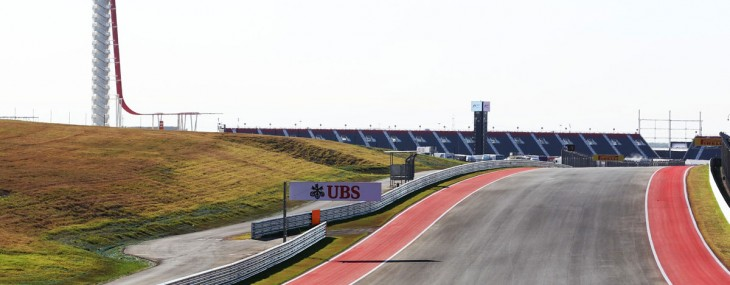 Race on the tracks of Circuit of the Americas for $50,000 per day