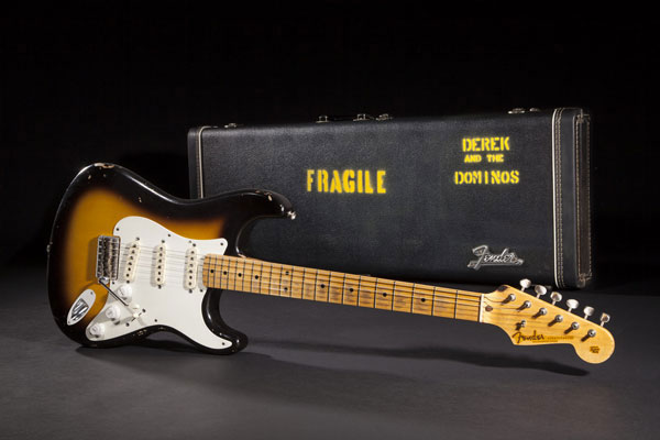 Eric Clapton Brownie Tribute Stratocaster