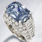 Extremely Rare Bulgari Blue Diamond Ring Coud Fetch $2.3 Million at Bonhams Auction