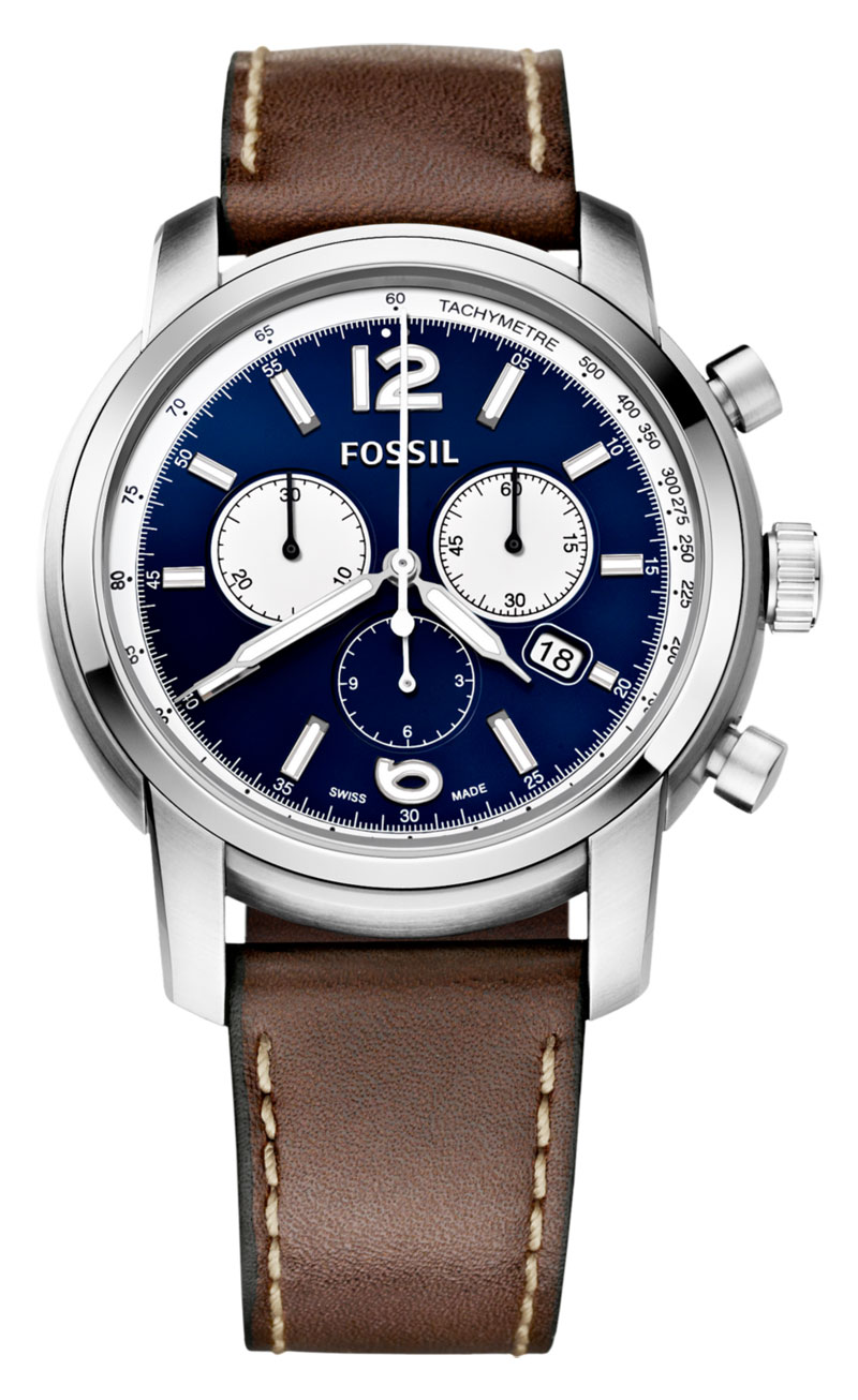 Fossil Just Came Out with Swiss Watches