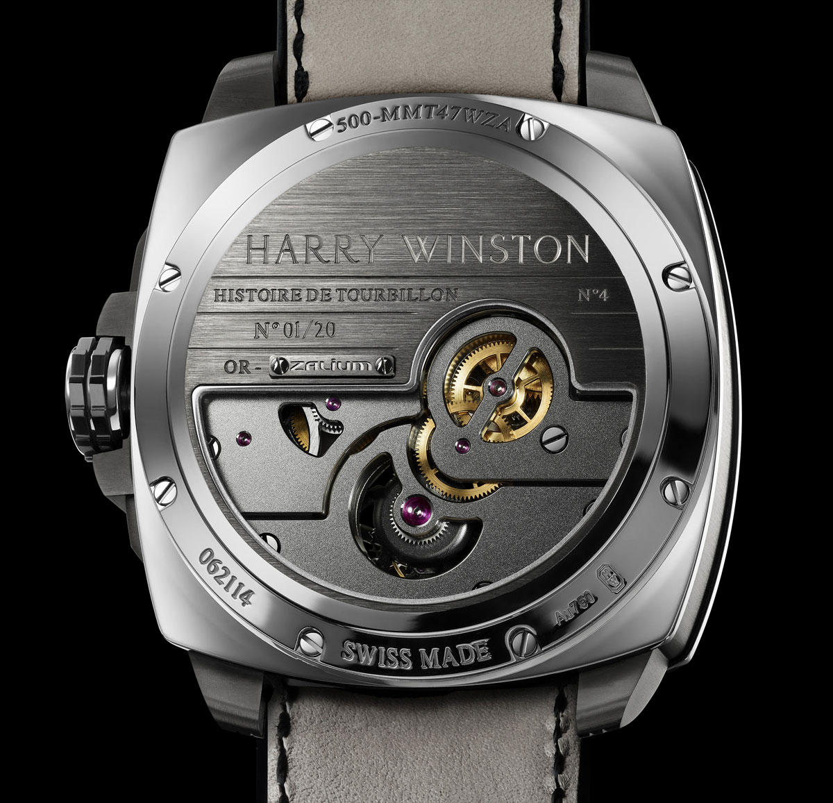 New Harry Winston Histoire de Tourbillon 4 Watch &#8211; Limited to 20 Pieces
