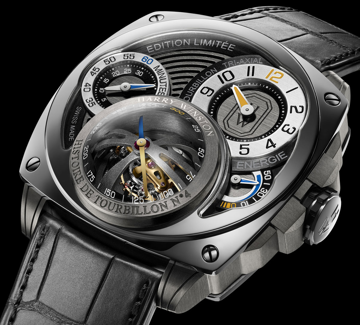 new harry winston histoire de tourbillon 4 watch limited to 20 pieces extravaganzi. Black Bedroom Furniture Sets. Home Design Ideas