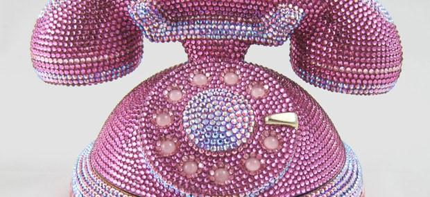 Judith Leiber's Ringaling Rotary Phone Minaudiere