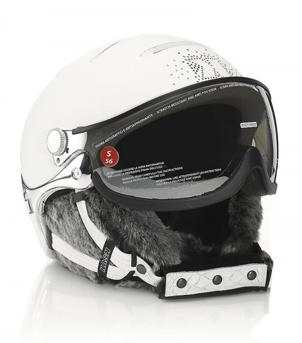 Kask's Lifestyle Lady Fur Trim Helmet