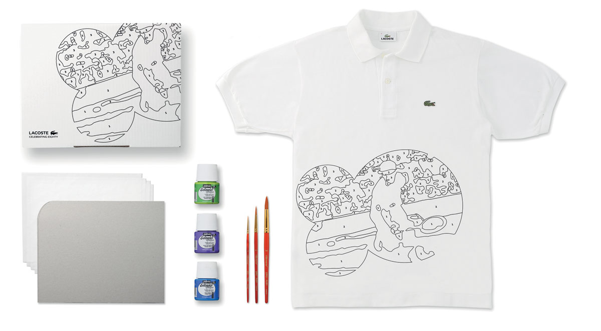 Lacoste Limited Edition 80 Custom Polo Kits