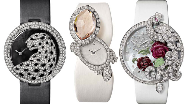 Jewelry Watches – Les Heures Fabuleuses de Cartier Collection for SIHH 2013