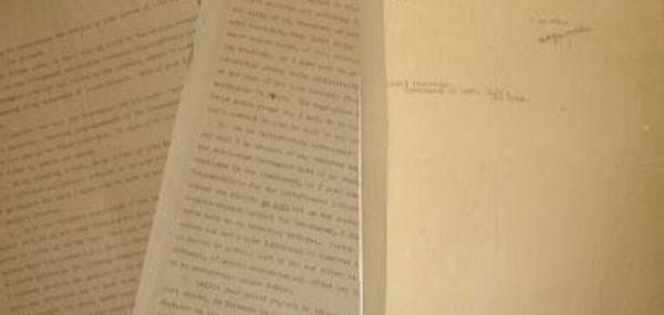 Letter by Mahatma Gandhi