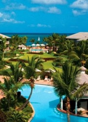 Ocean Club Resort on Grace Bay Beach on Provo in the Turks and Caicos islands
