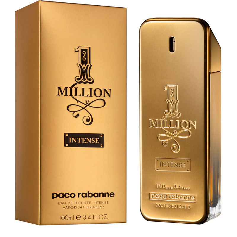 1 million intense new fragrance by paco rabanne. Black Bedroom Furniture Sets. Home Design Ideas