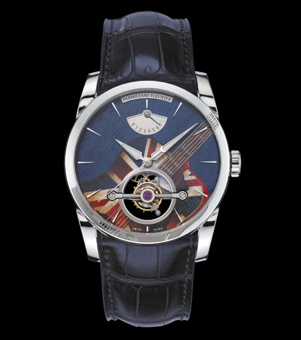 Parmigiani Fleurier's Tonda Woodrock Tourbillons