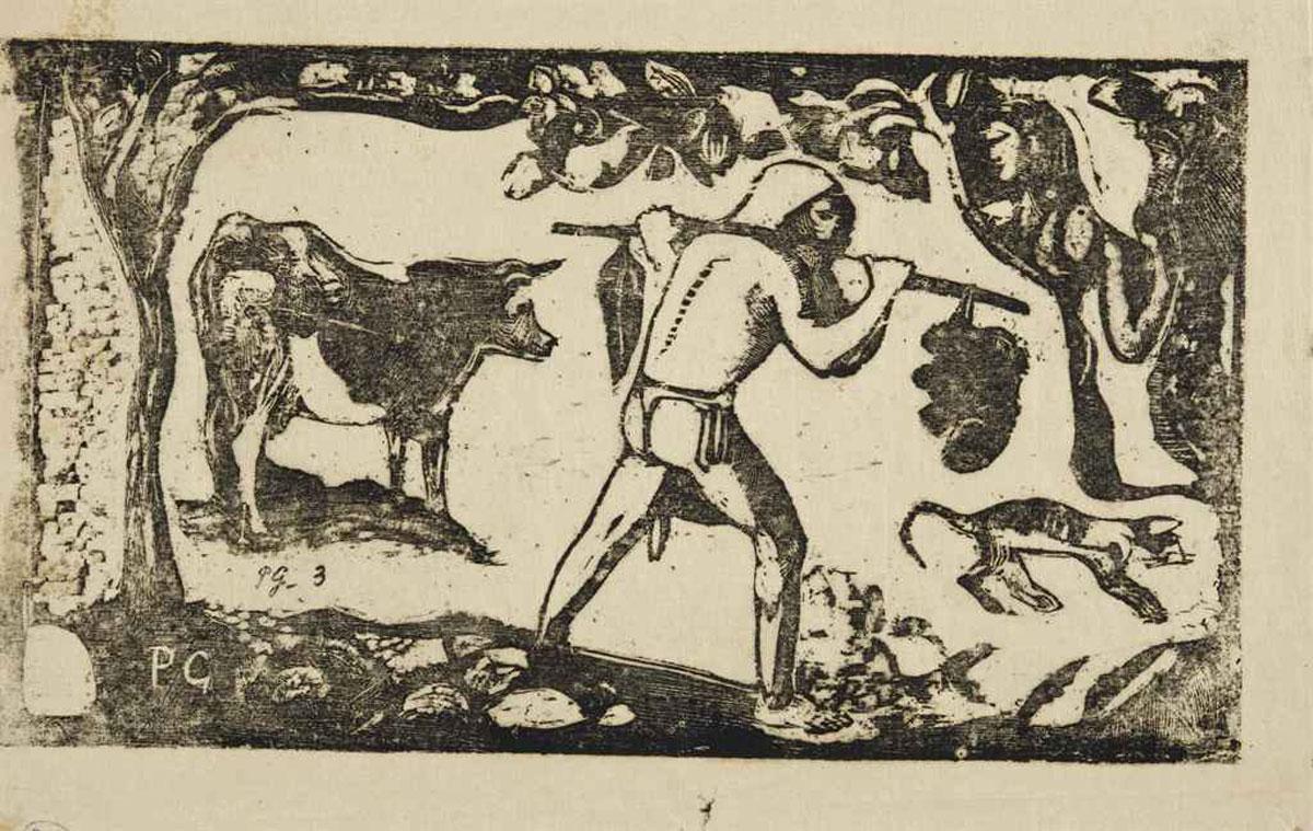 Paul Gauguin's Le Porteur de Féï