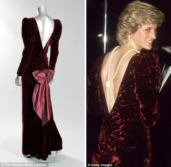 Princess Diana's most iconic dresses