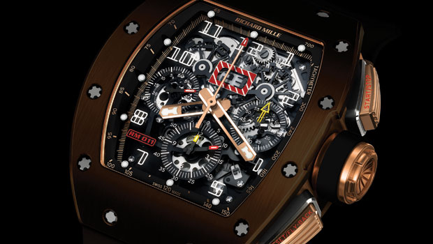 Richard Mille RM 011 Silicon Nitride &#8211; Hardy as Formula 1 Car