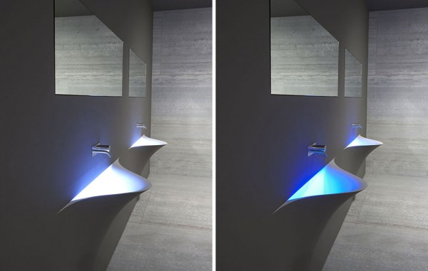Silence Wash Basin by Antonio Lupi