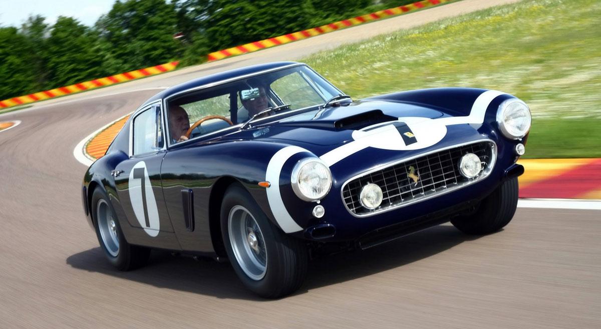 Stirling Moss Ferrari 250 Gt Swb Sold For 11 Million