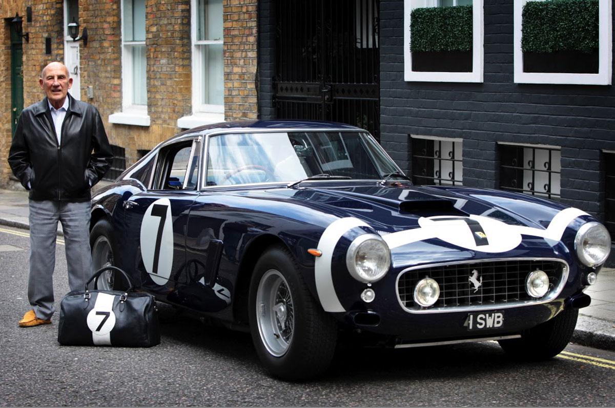 Stirling Moss Ferrari 250 GT SWB