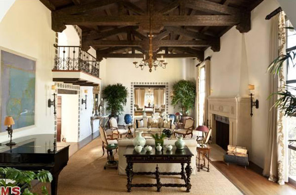 Spanish Colonial Revival Estate Owned by Few Known Figures on Sale for $38 Million