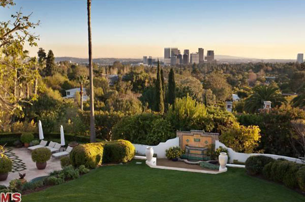 Sultan of Brunei's Former Spanish Colonial Estate in Beverly Hills