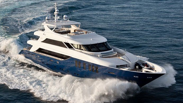 Lavish Ouranos Superyacht  Available for Charter