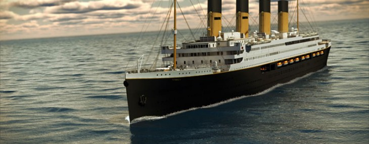 Replica of Titanic Could Sail in 2016?