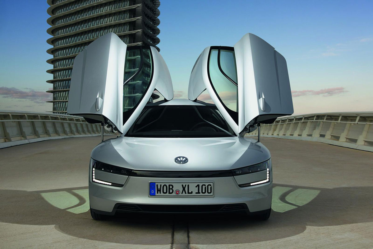this is a serial volkswagen xl1 extravaganzi. Black Bedroom Furniture Sets. Home Design Ideas