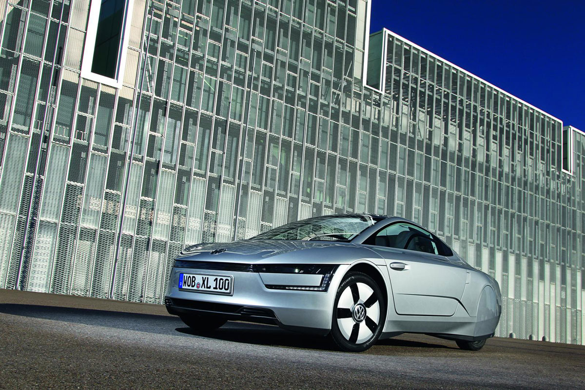 This is a Serial Volkswagen XL1 - eXtravaganzi