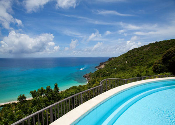 St. Bart&#8217;s Luxury Compound above Gouverneur Bay on Sale