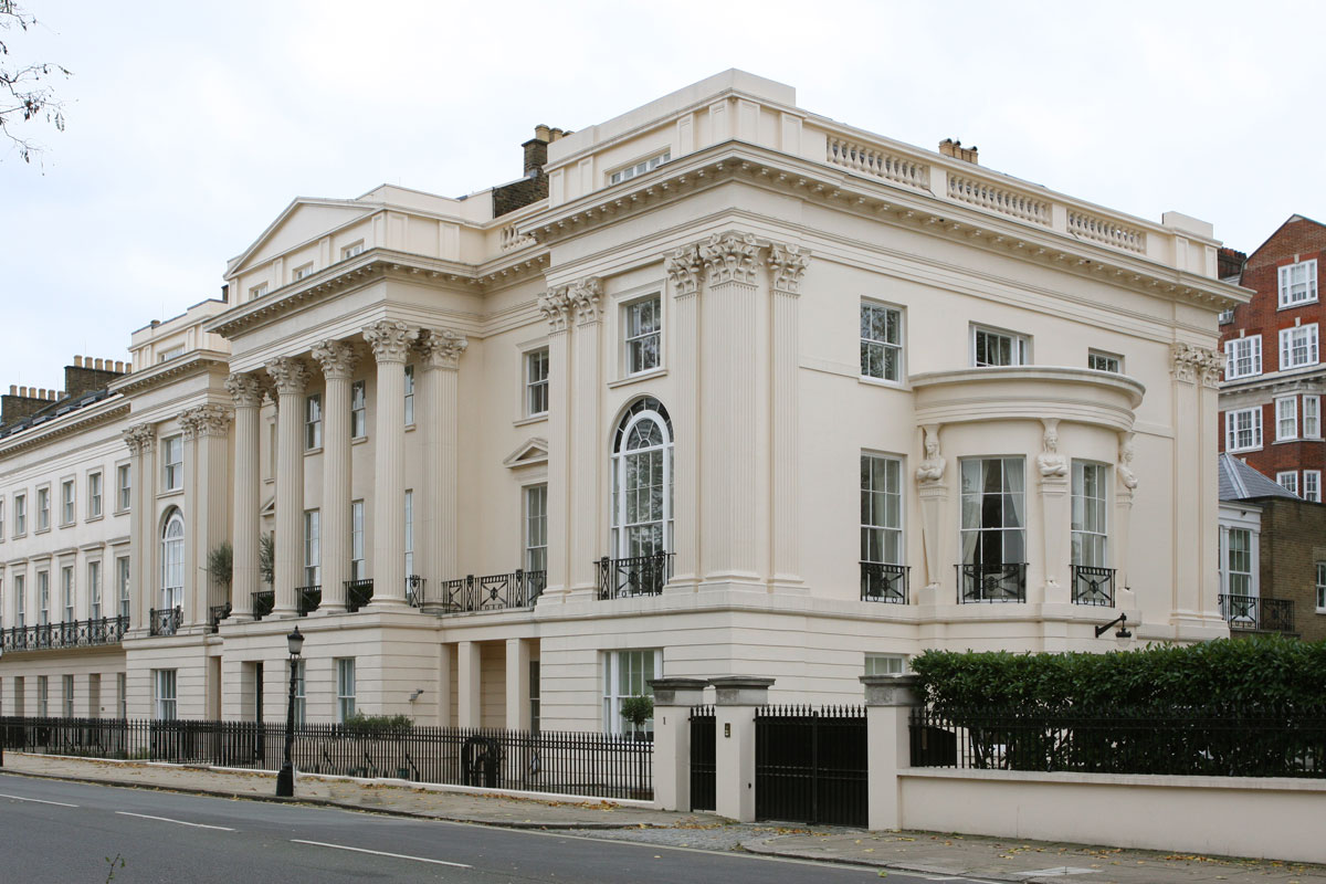 House Design In Qatar London S Cornwall Terrace Property Sold For 163 80 Million