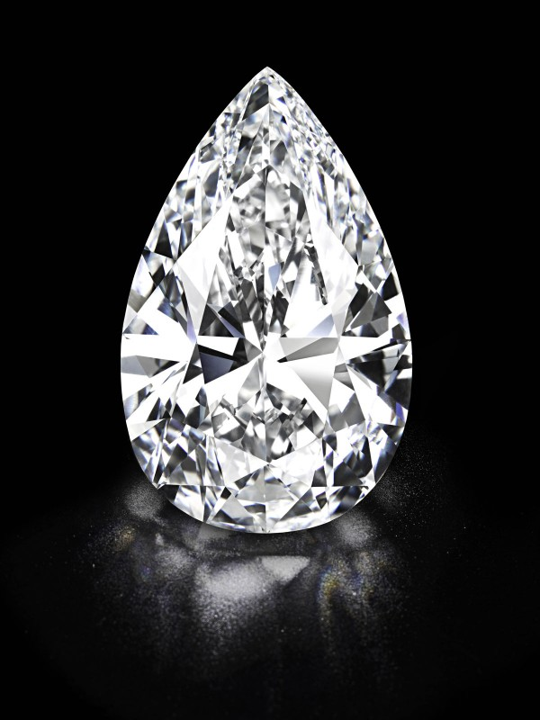 The largest D colour flawless diamond ever to be offered for sale at Christie's Geneva