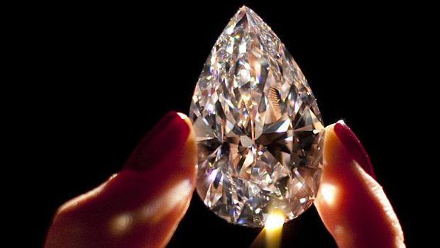 101.7 carat - World's largest flawless diamond