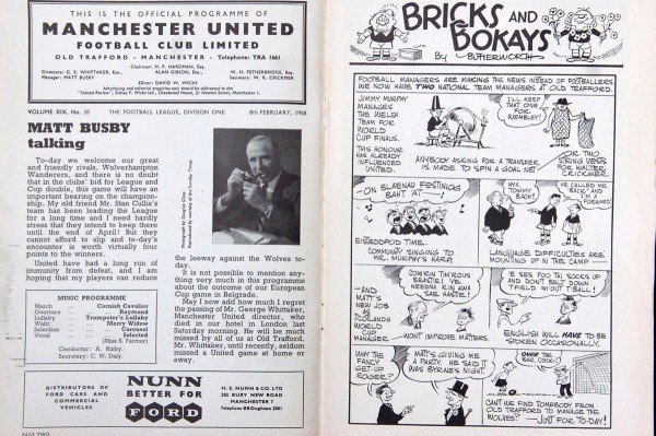Man United fan set to make £20,000 after finding two copies of 'Holy Grail' programme in his attic