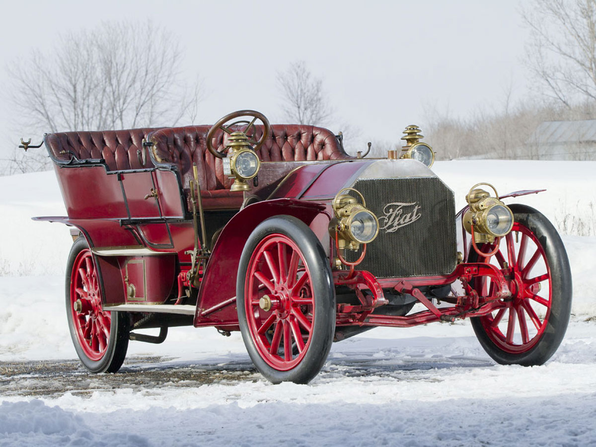 Rare 1905 FIAT 60HP Heads List of New Entries at RM\'s Sale on Lake ...