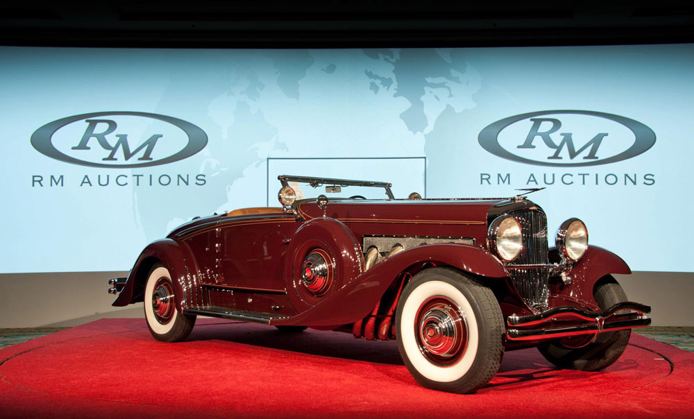 RM Auctions At Amelia Island, Florida Posting More Than $26.8 Million