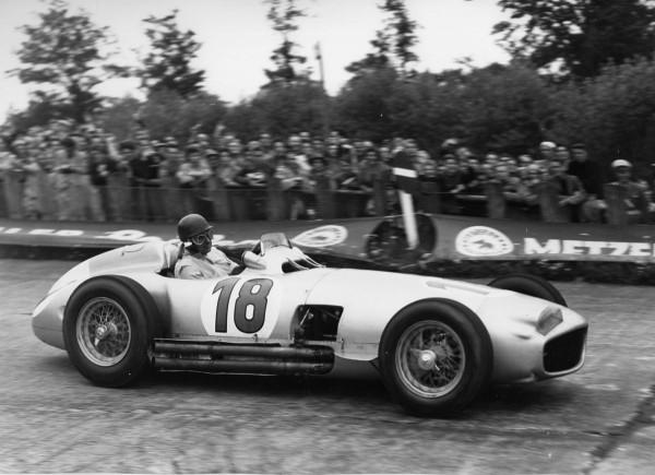 Juan Manuel Fangio 1954 Mercedes-Benz W196 Silver Arrow on Auction at Bonhams