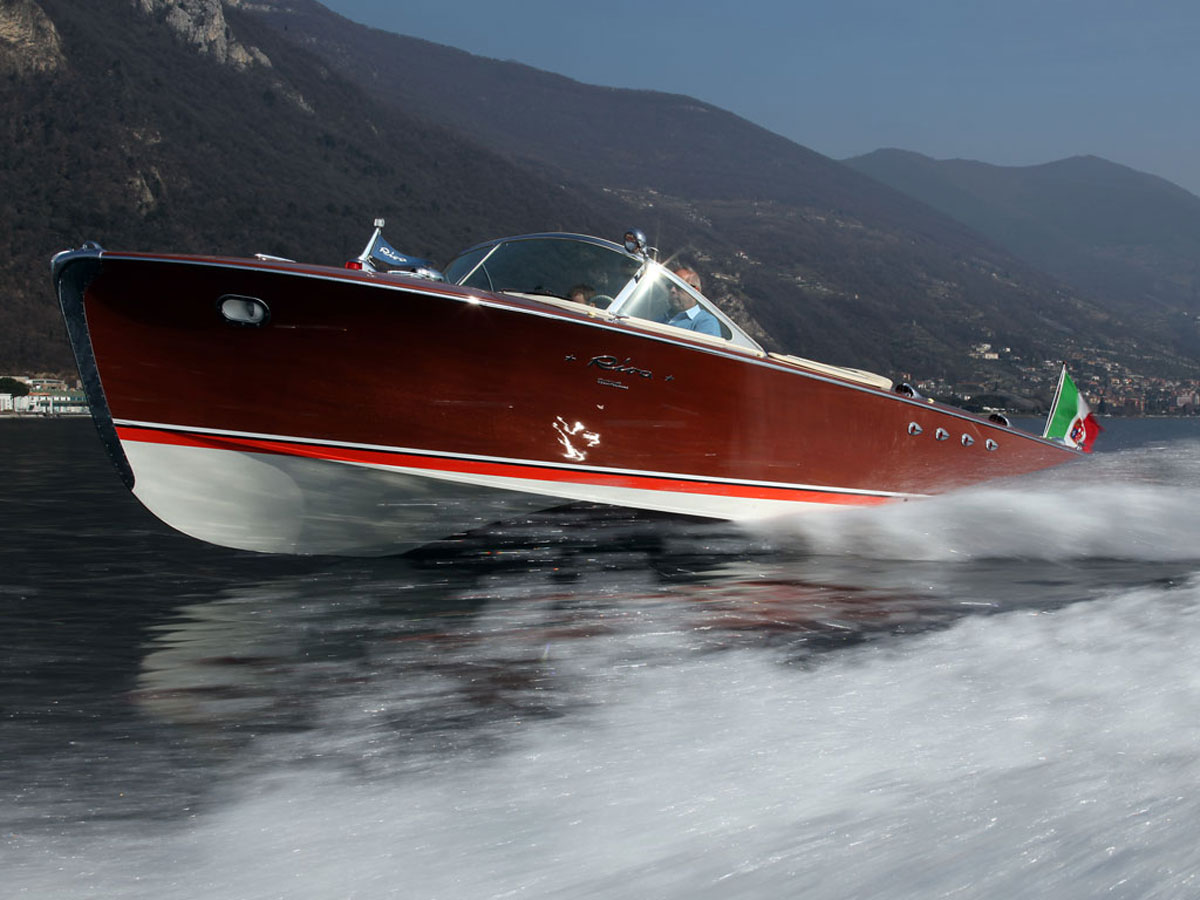 1960 Riva Tritone Speciale Cadillac Powerboat At RM Auction