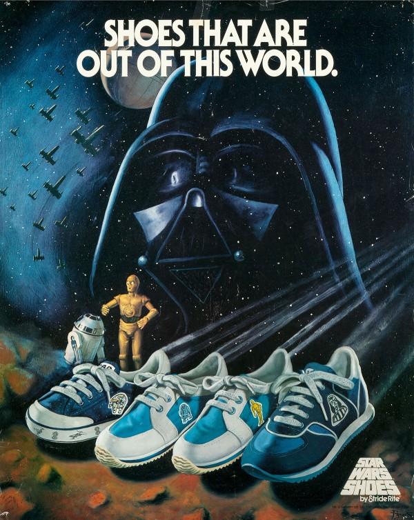 1982 Star Wars Stride Rite Advertising Poster