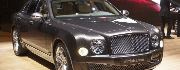 Bentley Mulsanne Debuts at New York Motor Show