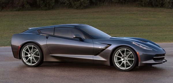 Callaway Cars released renderings of the company's design study for a C7 Corvette-based shooting brake concept