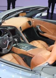 2014 Chevrolet Corvette Stingray Convertible at Geneva Motor Show