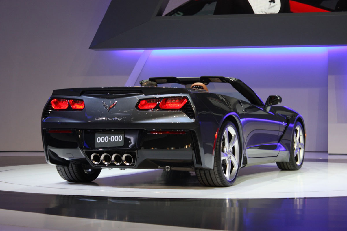 2014 chevrolet corvette stingray convertible at geneva motor show - 2014 Chevrolet Corvette Stingray Convertible