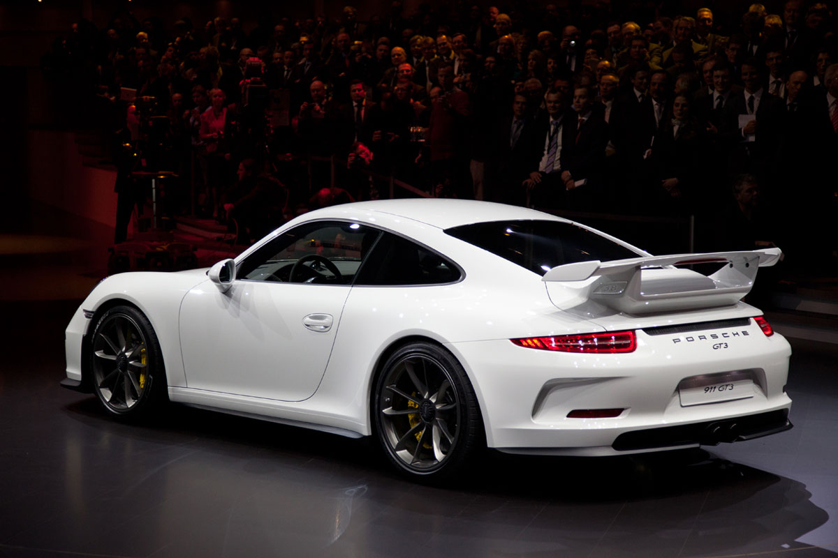 Geneva Motor Show Presents 2014 Porsche 911 GT3