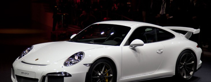 2014 Porsche 911 GT3 At New York Motor Show