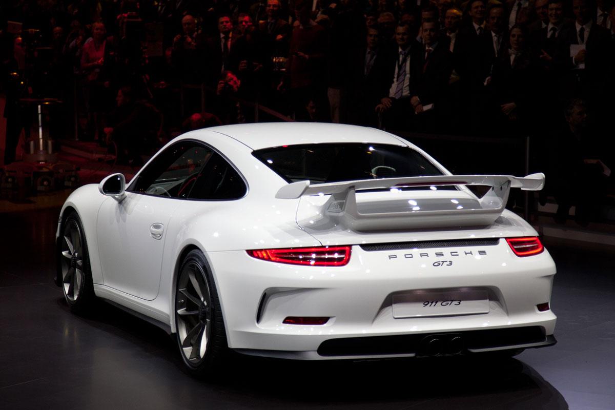 Geneva Motor Show Presents 2014 Porsche 911 Gt3 Extravaganzi