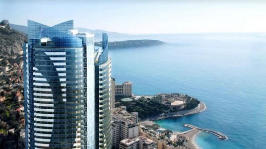 A multi-storey penthouse in Monaco